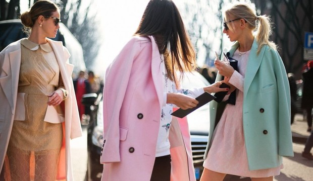 Must-have: Розовое пальто