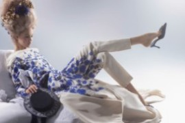Линдси Виксон для Harper's Bazaar Апрель'14