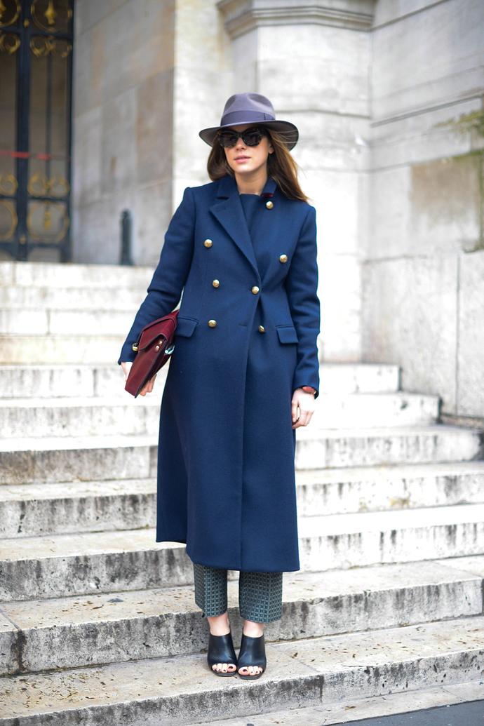 Street Style - Day 7 : Paris Fashion Week - Womenswear Fall/Winter 2014-2015