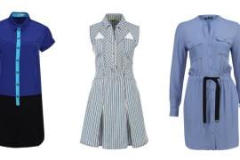 Базовые вещи на весну: платье-рубашка
