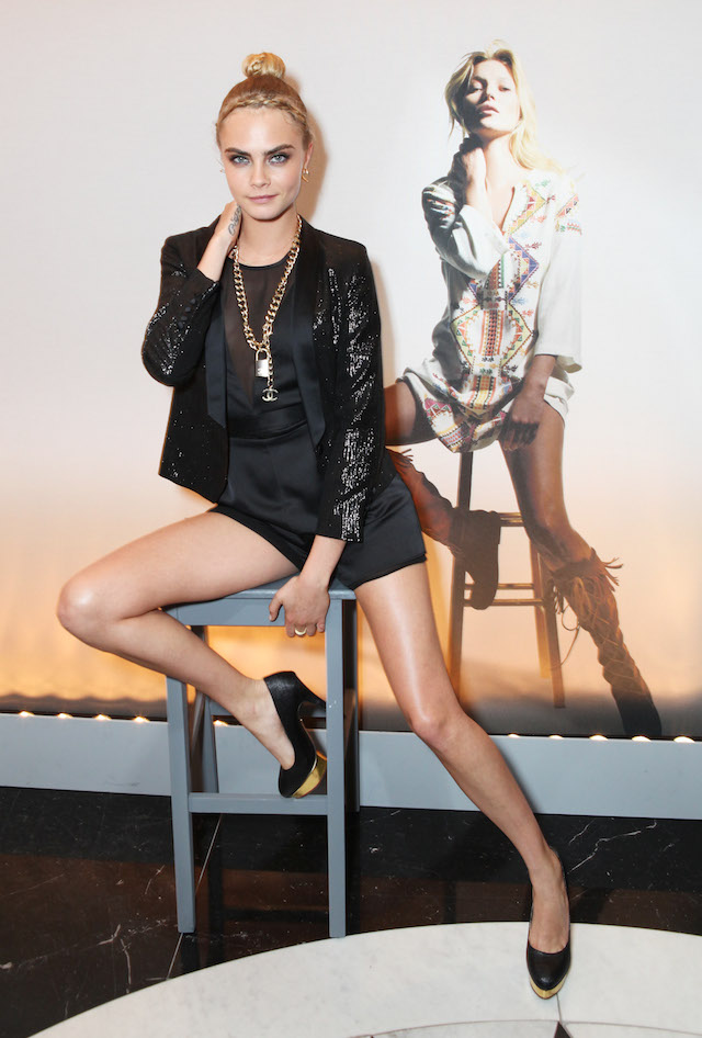 Kate Moss For TopShop Collection - Global Launch - Private Dinner