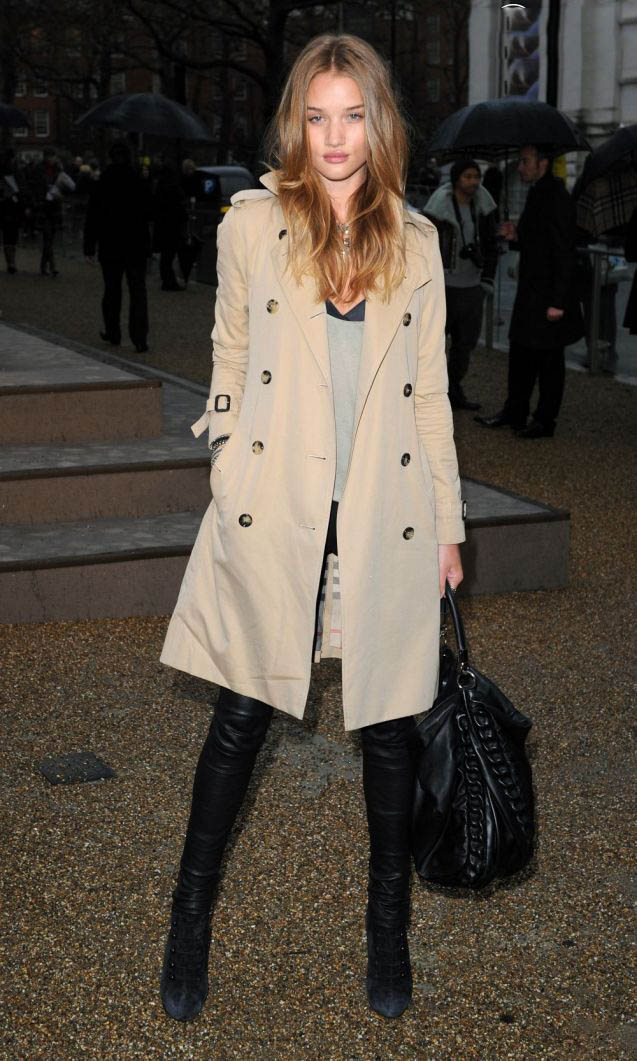 la-modella-mafia-Fall-2012-trend-a-chic-easy-trench-coat-Rosie-Huntington-Whiteley