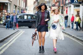 На улицах мира: rocker jacket