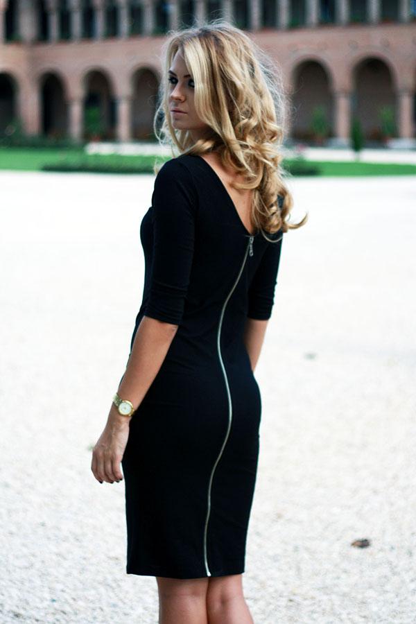 маленькое-черное-платье-миди