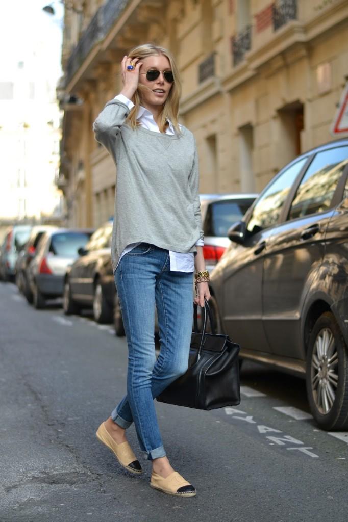 street style+espadrille+alpargatas+jeans+fashion+moda+trends+tendencias