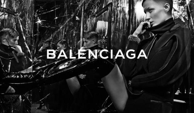 Смена лиц: Жизель Бюндхен для Balenciaga