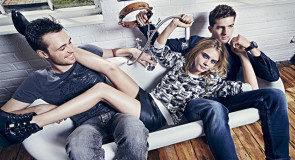 Кара Делевинь в кампании Pepe Jeans