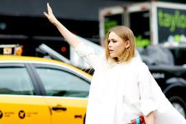 На улицах мира: Неделя моды в Нью-Йорке и total white