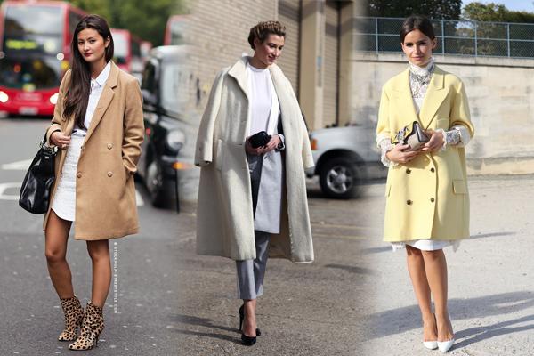 пастельные женские пальто