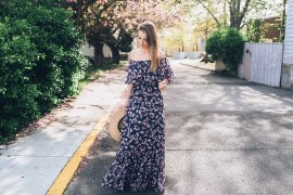 Платья макси летом 2018: в тренде сдержанная сексуальность