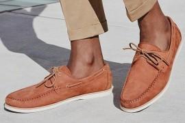 Мужские замшевые мокасины – обувь с многовековой историей