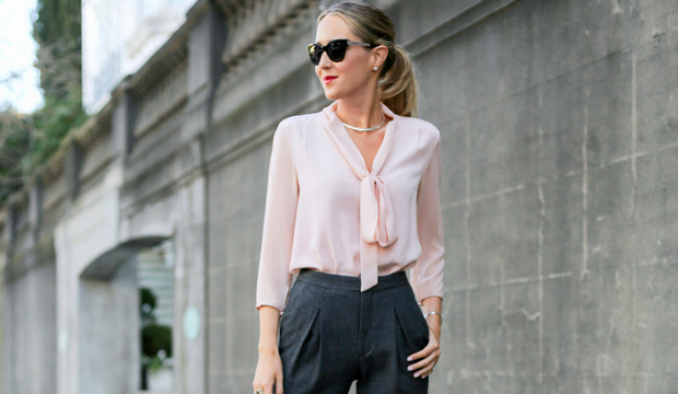 Офисная блузка для модницы