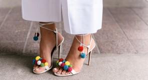 С чем носить босоножки на каблуке: короткий ликбез
