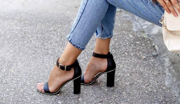 Модный ликбез: с чем обычно носят босоножки на толстом каблуке