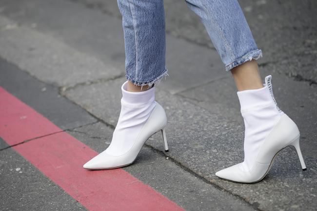 Street Style, Fall Winter 2018, Paris Fashion Week, France - 05 Mar 2018